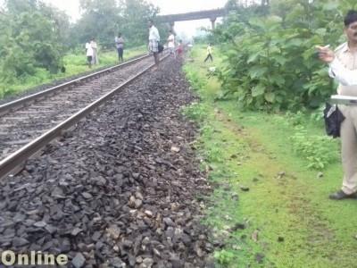 بھٹکل کے قریب منکی ریلوے پٹری پر پائی گئی نامعلوم شخص کی ٹکڑوں میں  بکھری ہوئی نعش؛  تیز رفتار ٹرین کی زد میں آکر ہلاک ہونے کا شبہ