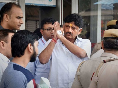 Delhi court sends Congress leader D K Shivakumar to judicial custody