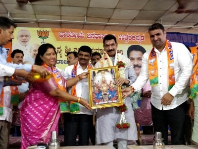 BJP Karnataka Chief Nalin Kumar Kateel terms former CMs as villain and side actor