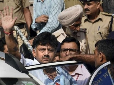 Delhi HC to hear Shivakumar's plea seeking copy of his statements recorded by ED on September 26