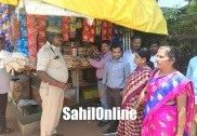 Tobacco selling shops raided in Bhatkal
