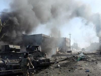 کربلا کے نزدیک مسافر بس دھماکے سے تباہ، 12 افراد جاں بحق