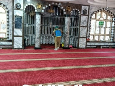 Covid-19: Mosques in Bhatkal sanitized