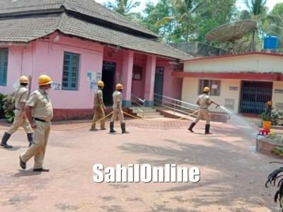 Sterilization drive at various streets of Kumta to contain spread of Coronavirus