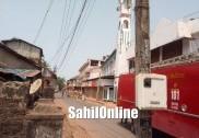 Kumta streets sterilized to contain spread of Covid-19