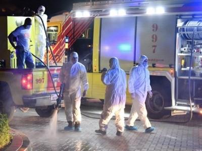 کرونا وائرس:یو اے ای میں صفائی پروگرام کے پیش نظرکرفیو میں غیرمعیّنہ مدت کی توسیع