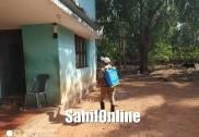 بھٹکل:ٹاؤن میونسپل کاؤنسل کی طرف سے مسجد وں میں کیا گیا جراثیم کُش دوائیوں کا چھڑکاؤ؛ پنچایت حدود کے علاقوں میں بھی چھڑکائی گئی دوائیں