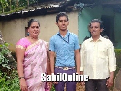 SSLC results: Tempo driver's son in Bhatkal topped in Kannada Medium, wants to be a soldier