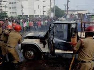 تریپورہ میں بی ایس ایف کے جوانوں اور دیہی افراد کے مابین جھڑپ کے بعد ماحول کشیدہ