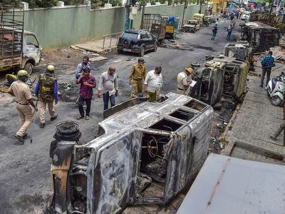 Bengaluru violence: Sec 144 extended in DJ Halli, KG Halli police station limits till 6 am on Aug 15