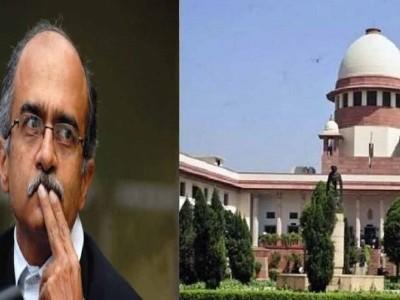 توہین عدالت معاملہ :پرشانت بھوشن قصوروار قرار،20 اگست کو سماعت