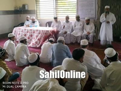 بھٹکل کے ایک عالم دین کی صرف 47 دنوں میں حفظ قران کی تکمیل پر  تہنیتی جلسہ