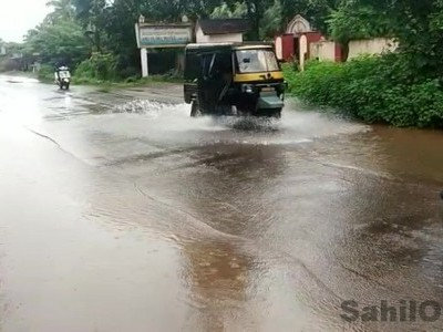Intermittent rain in Dakshina Kannada, Udupi