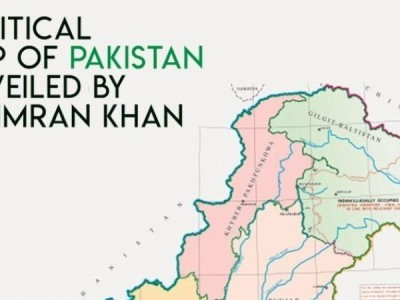 Imran Khan unveils new map that shows Kashmir as part of Pakistan