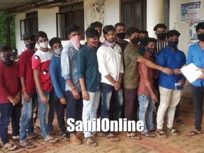 بھٹکل: سرکاری کالج جالی کے بجائے وینکٹاپور میں تعمیر کرنے کا مطالبہ۔ اے بی وی پی نے دیا اے سی کومیمورنڈم