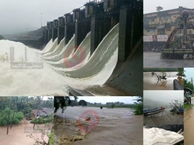 Rivers full, many villages marooned in Uttara Kannada district