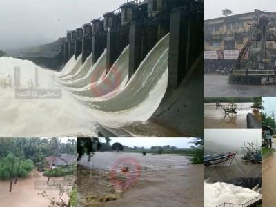 Rivers full, many villages marooned in Uttara Kannada district