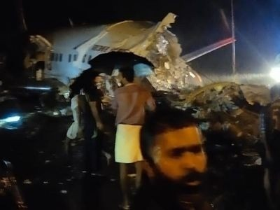 Air India Express plane overshoots runway at Kozhikode airport