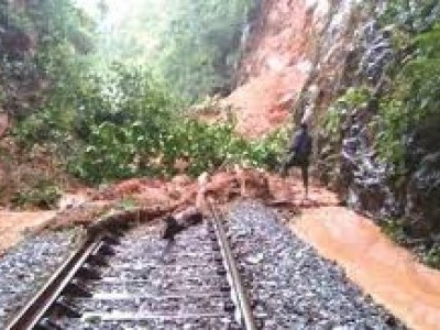 8 long-distance trains in Konkan route diverted due to landslide