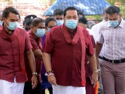 سری لنکا: عام انتخابات میں مہندا راج پکشے کی جماعت فتح یاب
