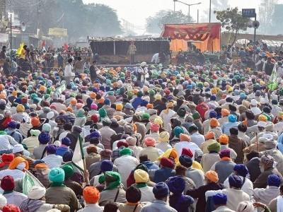 Farmers block Jaipur-Delhi highway to demand withdrawal of farm laws