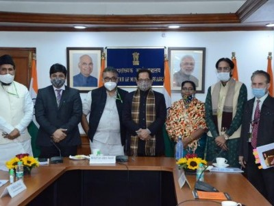 Waqf Boards to be soon established in J&K, Ladakh: Naqvi