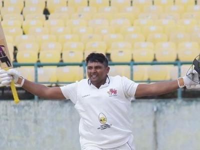 Ranji Roundup: Sarfaraz continues run of form, scores 169