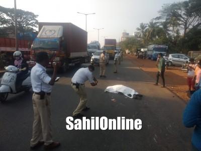 Mangaluru: Youth killed as tanker rams into bike near Nanthoor circle