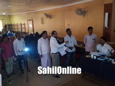 Bhatkal: Uproar in meeting over UGD Project