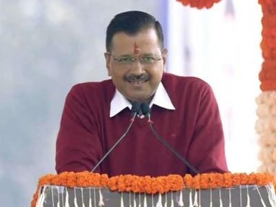 اروند کجریوال تیسری مرتبہ بنے وزیر اعلیٰ، دہلی کو آگے بڑھانے کے لئے پی ایم کا آشیرواد چاہتا ہوں
