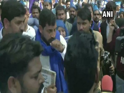 Bhim Army chief leads 'Aarakshan Bachao' march in Delhi