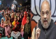 Security up in Shaheen Bagh as protesters set to march towards Amit Shah's residence