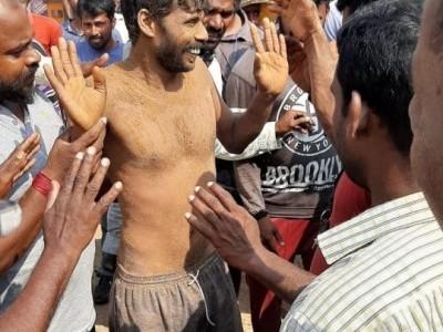 ಬೋರ್ವೆಲ್ ಒಳಗೆ ಬಿದ್ದ ಕಾರ್ಮಿಕ : ನಿರಂತರ ಕಾರ್ಯಾಚರಣೆ