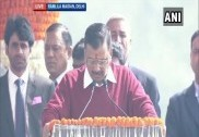 Arvind Kejriwal takes oath as Delhi Chief Minister