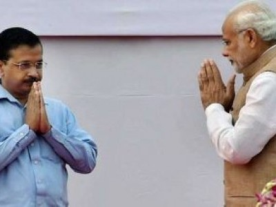 Best wishes to Kejriwal for a fruitful tenure: PM Modi
