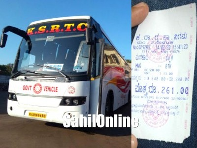 Impact of Shiroor toll plaza: Bhatkal-Mangaluru Volvo bus fares soar