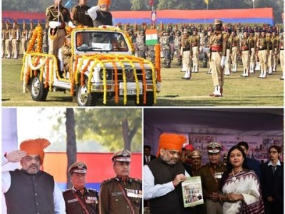 42 policemen awarded medals on 73rd raising day