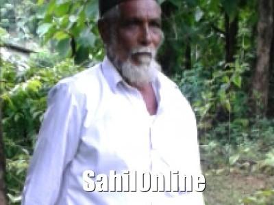 ಮುಸ್ಲಿಂ ಮುಖಂಡ ತಾರೀಮೈದಾನ ಬಾಬಾಸಾಬ ನಿಧನ