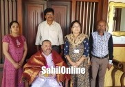 Prominent businessman Younus Qazia felicitated by Bhatkal Govt hospital officials