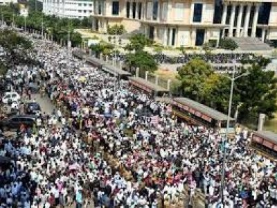 CAA: Thousands of Muslims take to streets in TN