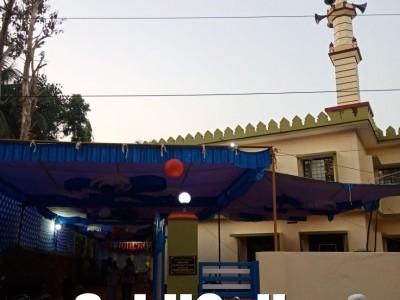 کمٹہ کے چنداور میں نوتعمیر شدہ مسجد سیدنا عثمان بن عفان کا بھٹکل کےقاضی مولانا محمد اقبال ملا ندوی کی دعاسے افتتاح