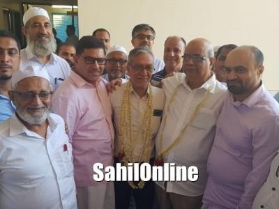 ಅಂಜುಮನ್ ಶಿಕ್ಷಣ ಸಂಸ್ಥೆಗಳ ಅಧ್ಯಕ್ಷರಾಗಿ ಮುಝಮ್ಮಿಲ್ ಕಾಝಿಯಾ