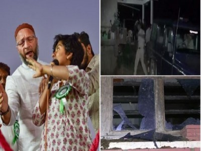 چکمگلورو میں واقع امولیہ کے گھر پر ہندو نواز نوجوانوں کا حملہ