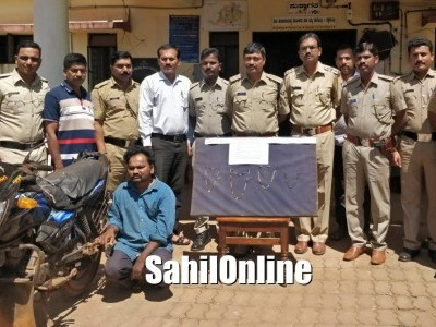 Chain snatcher arrested in Sirsi