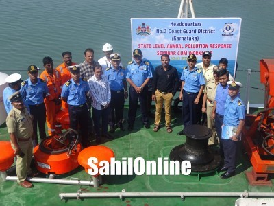 Coast Guard conducts pollution response exercise