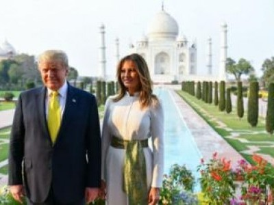 Prez Trump visits Taj Mahal, says America loves India