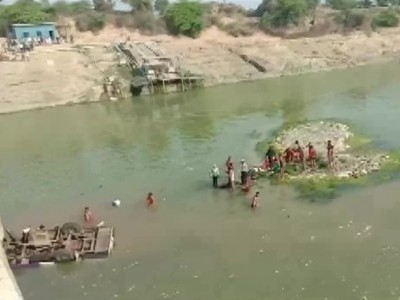 24 killed after bus plunges into river in Bundi