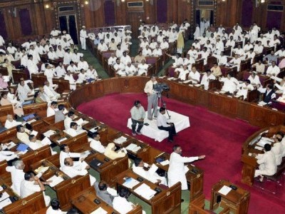 UP assembly adjourned after Samajwadi Party demand of caste census