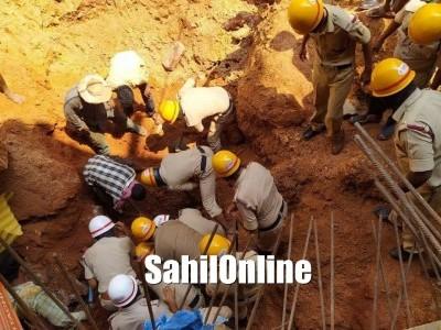 منگلورو میں کمپاؤنڈ کی دیوار گرنے سے دو مزدور ہلاک