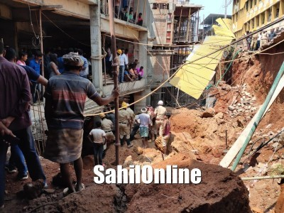 Migrant labourer from West Bengal among 2 killed in wall collapse in Mangaluru